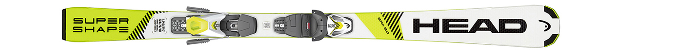 Supershape SLR Pro White/Neon Yellow + SLR 4.5 AC (120-150)